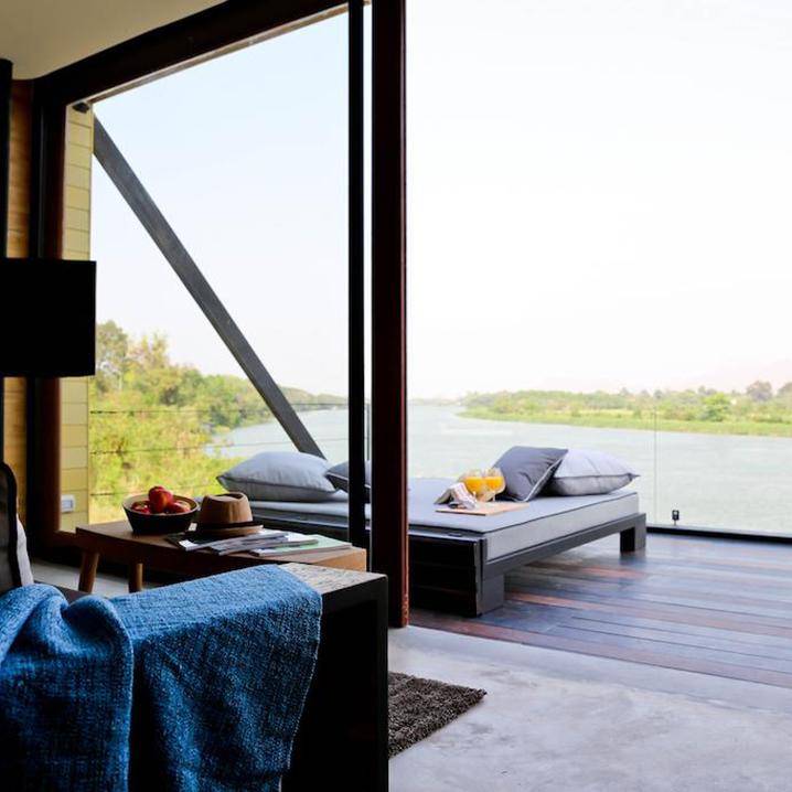 在北碧X2 River Kwai Resort度假村酒店过夜,才算是正经决定