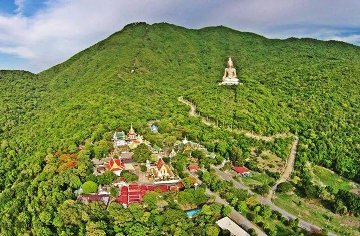 华富里旅游九大景点 翁帕章山(Khao Wong Phra Chan)