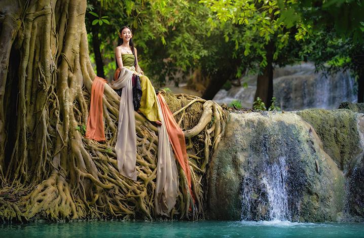 华富里旅游九大景点 汪干梁瀑布植物园(Wang Kan Lueang Waterfall Arboretum)