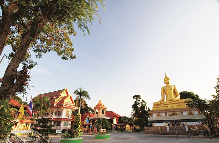 华富里旅游九大景点 东浦寺(Wat Tong Pu)