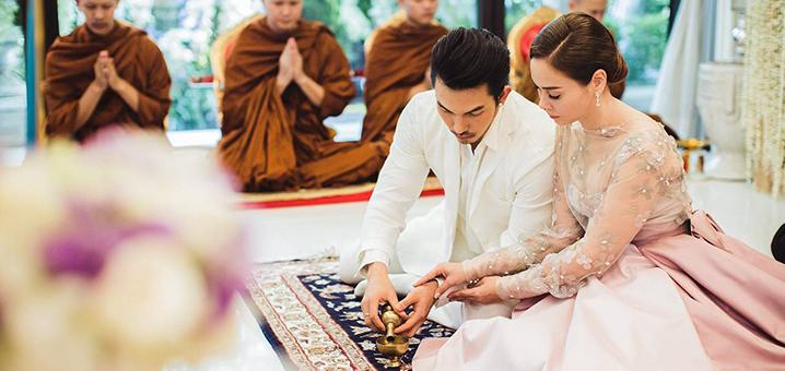 泰国传统四部婚礼习俗