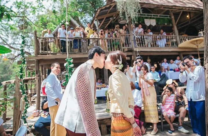 泰国传统四部婚礼习俗 东北部婚礼