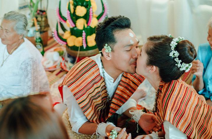 泰国传统四部婚礼习俗 泰南部婚礼