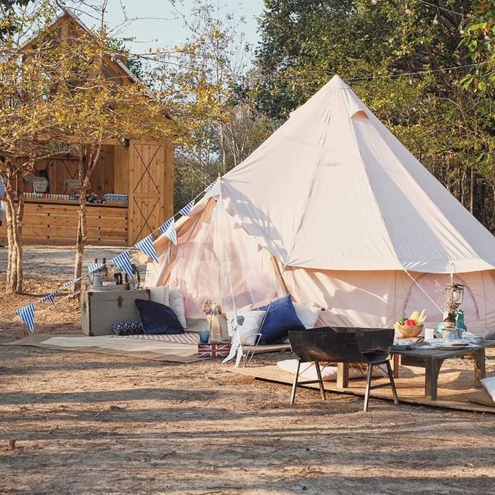 清迈最清新的帐篷露营CAMP CHAINGMAI,还剩一个月就关了