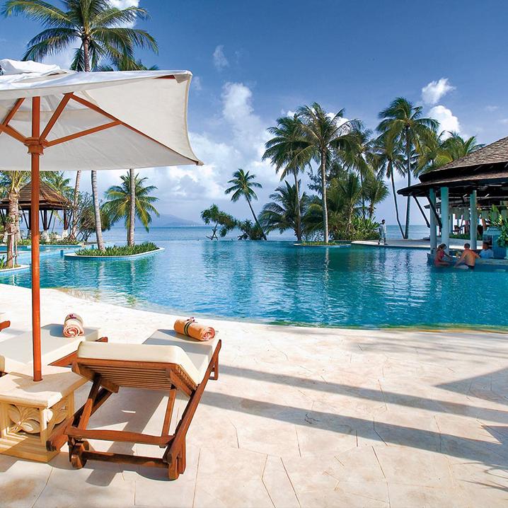 苏梅岛SALA海滩度假村,原来INS风的度假存在于此