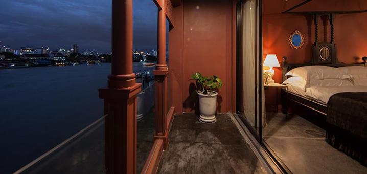 曼谷河畔酒店还能这么住