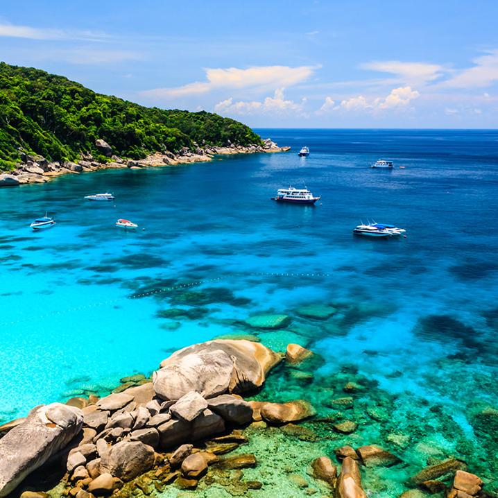 泰国斯米兰海岛游最强装逼带货指南