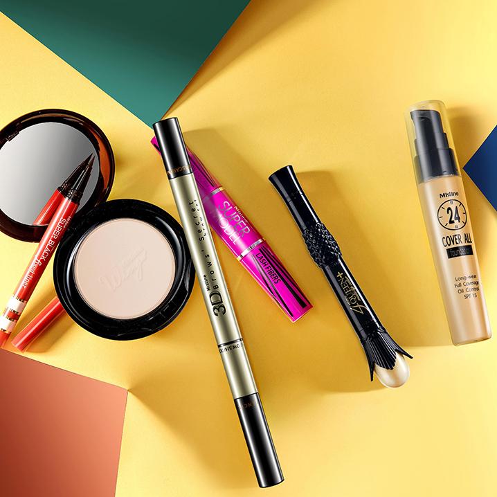 Mistine底妆明星产品攻略,包含Mistine粉底液和粉饼等