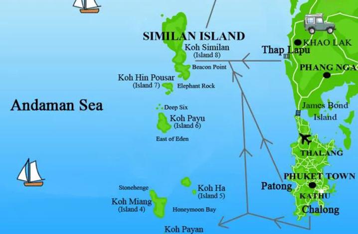 斯米兰世界级潜水点攻略