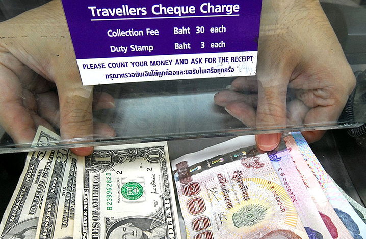 泰国泰铢兑换方法