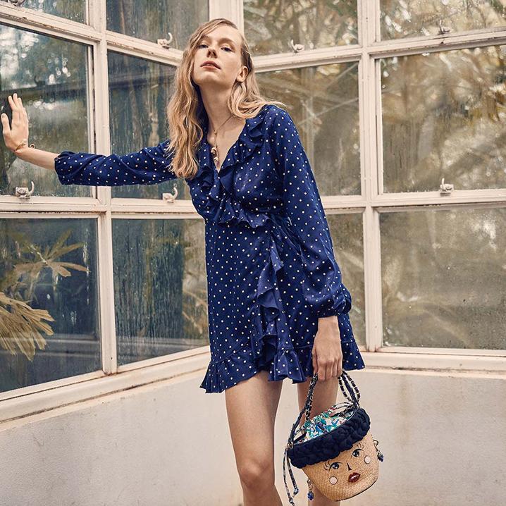 泰国原创服饰品牌LYN Around,清新俏皮的少女风