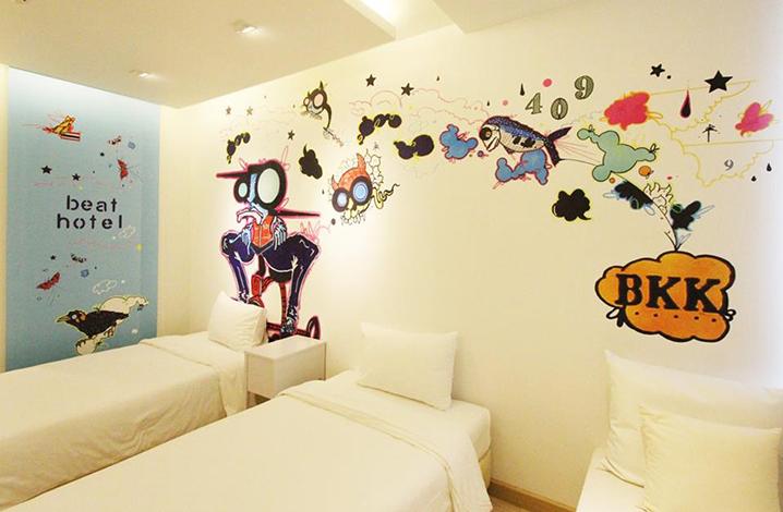 曼谷Beat Hotel精品酒店