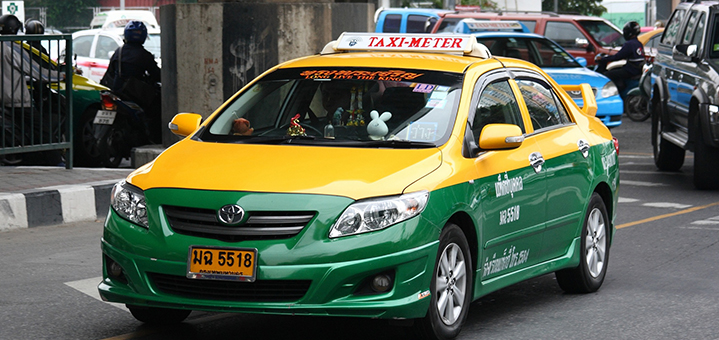 曼谷陪读记事,奇葩曼谷出租车司机