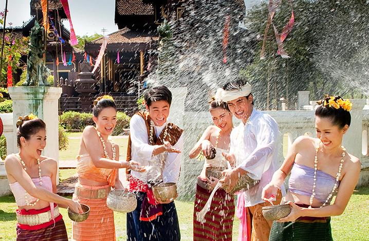 2018泰国泼水节