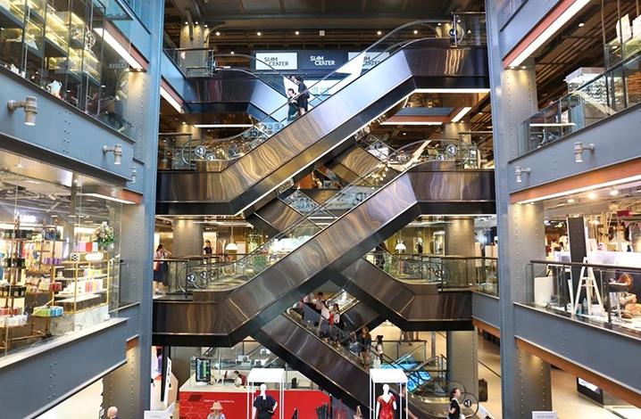 曼谷Siam Center购物商场