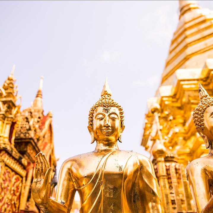 曼谷必拜三大神——曼谷四面佛、象神、爱神