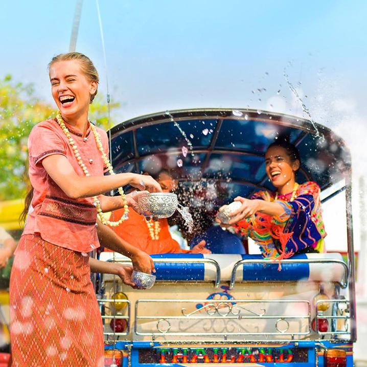 泰国泼水节进阶攻略