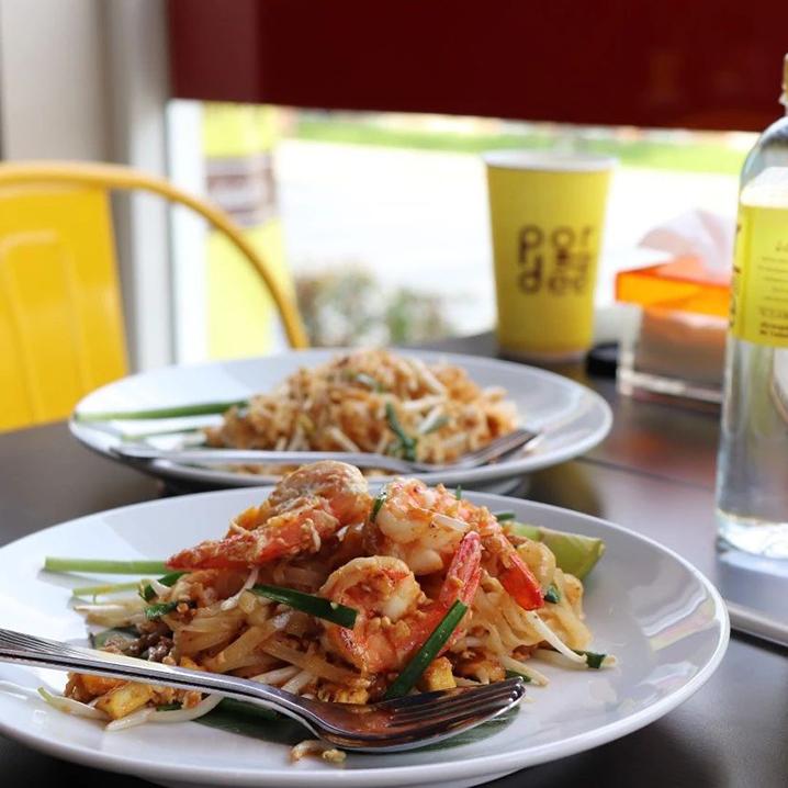 曼谷pordee padthai这家店能把padthai做出十几种口味