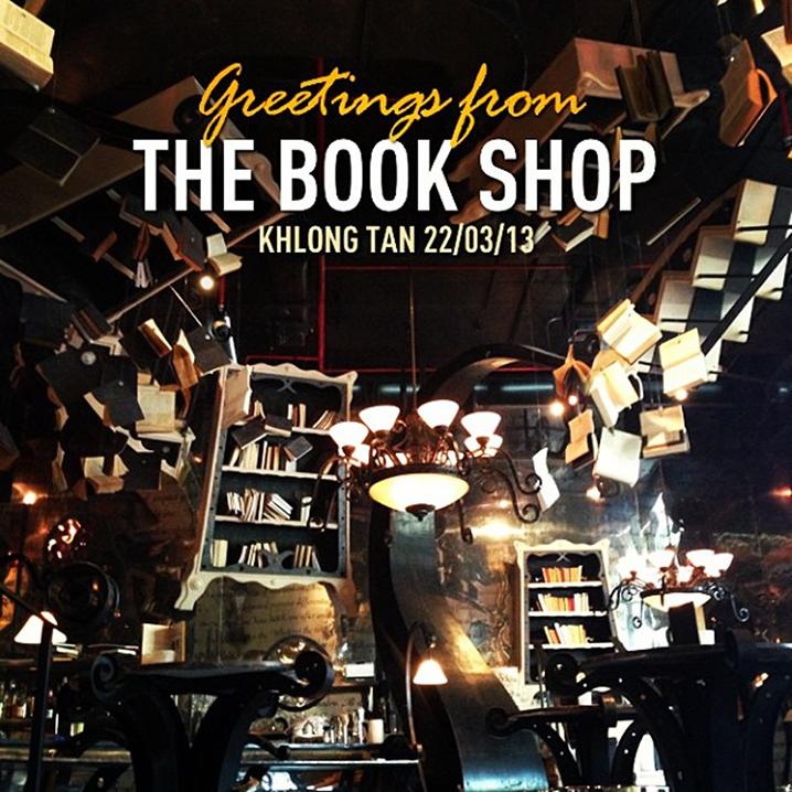 曼谷The Book Shop Cafe Bar咖啡店,走进梦幻世界