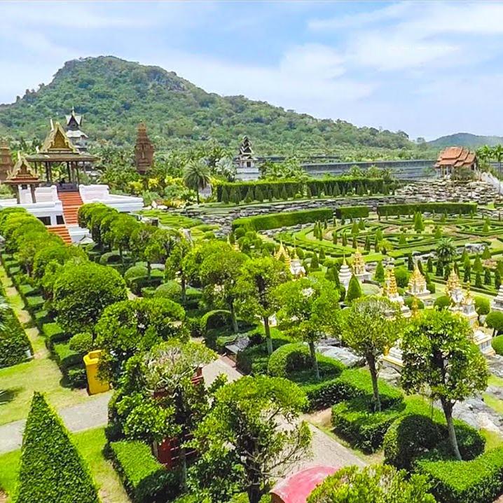 芭堤雅东芭热带花园,世界十大最美丽的花园之一