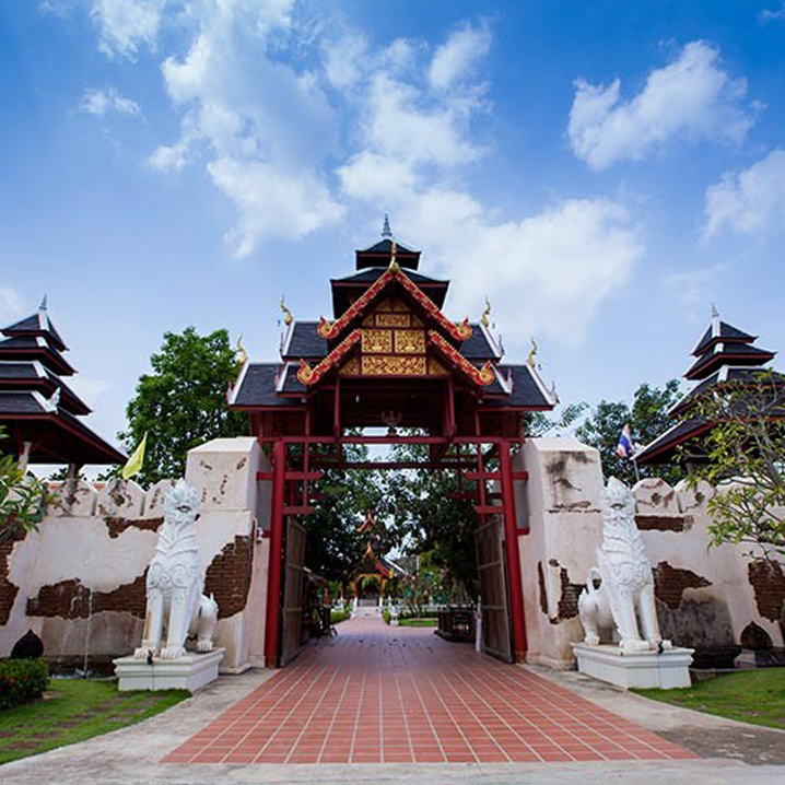 芭提雅五族城堡(Thai Thani Arts & Culture Village)