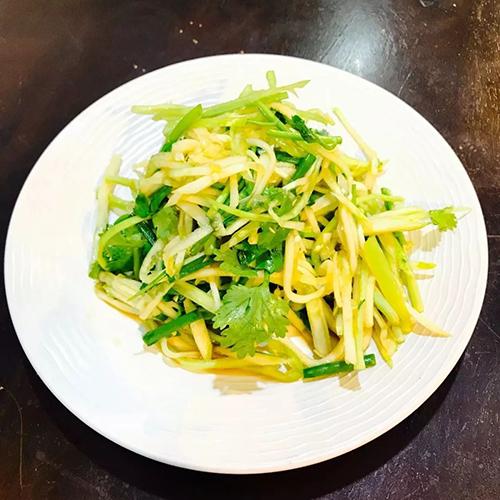 曼谷京味楼老虎菜