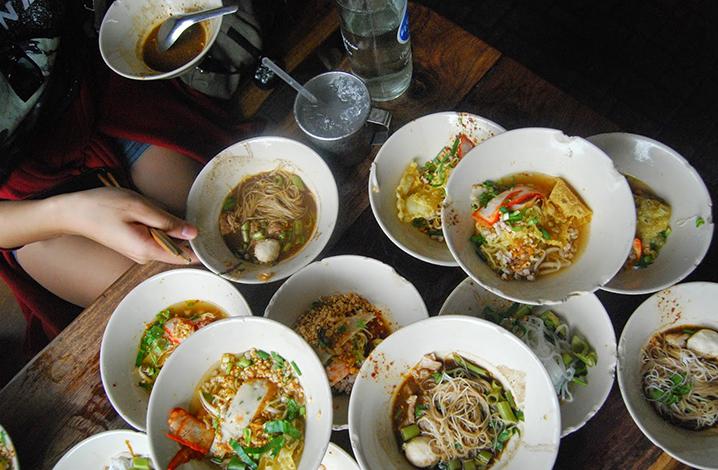 最为神奇入味的泰国小碗船面