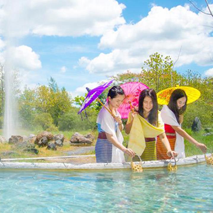 清迈小镇山甘烹,不仅仅有温泉,还有你要的宁静!