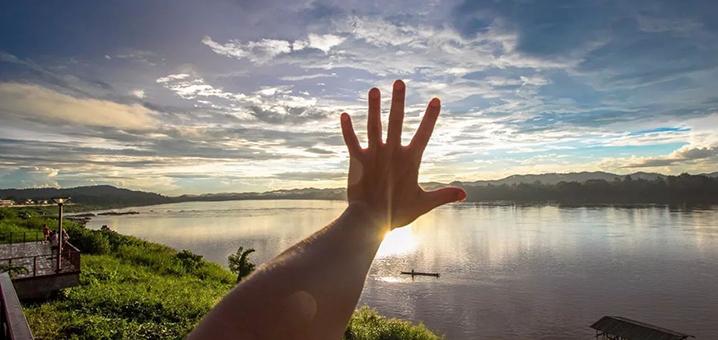 泰国边陲小镇——清刊Chiang Khan,文艺、浪漫、风景美
