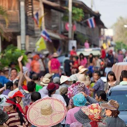 泰国小镇清刊Chiang Khan