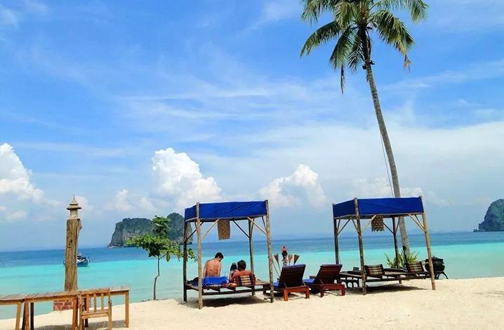 泰国适合发呆的海岛牙岛