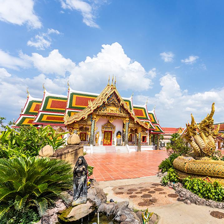 泰国东北部的沙功那空(Sakon Nakhon)旅游攻略