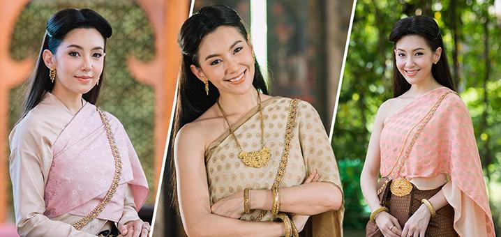 泰韩印越四国传统服饰大比拼,穿上传统服饰一起去旅行吧
