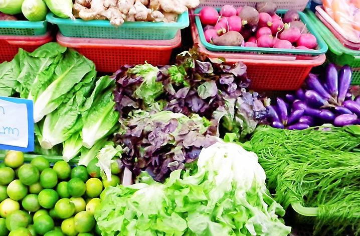 清迈菜市场
