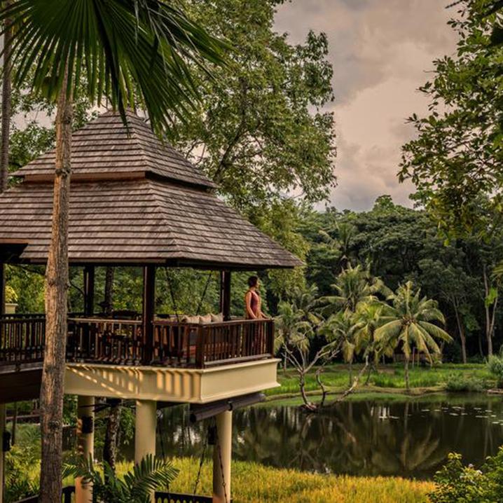 清迈四季酒店Four Seasons Resort Chiang Mai,与世无争的田园生活