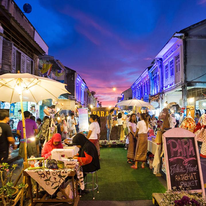 普吉岛好逛好玩的集市推荐,普吉岛不是只有周末市场