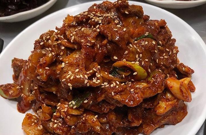 辣炒猪肉(제육볶음)