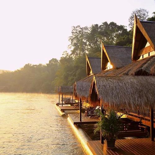 北碧浮动房屋度假村The Float House River Kwa
