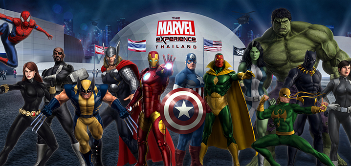 The Marvel Experience Thailand,曼谷漫威体验新天地