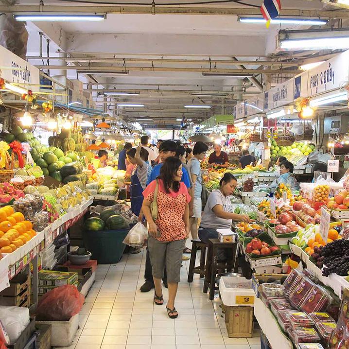 曼谷Or Tor Kor市场逛街攻略