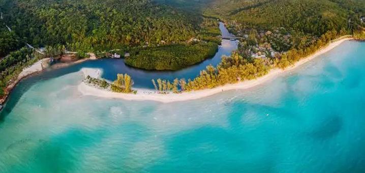 象岛这个原生态岛屿有点儿酷