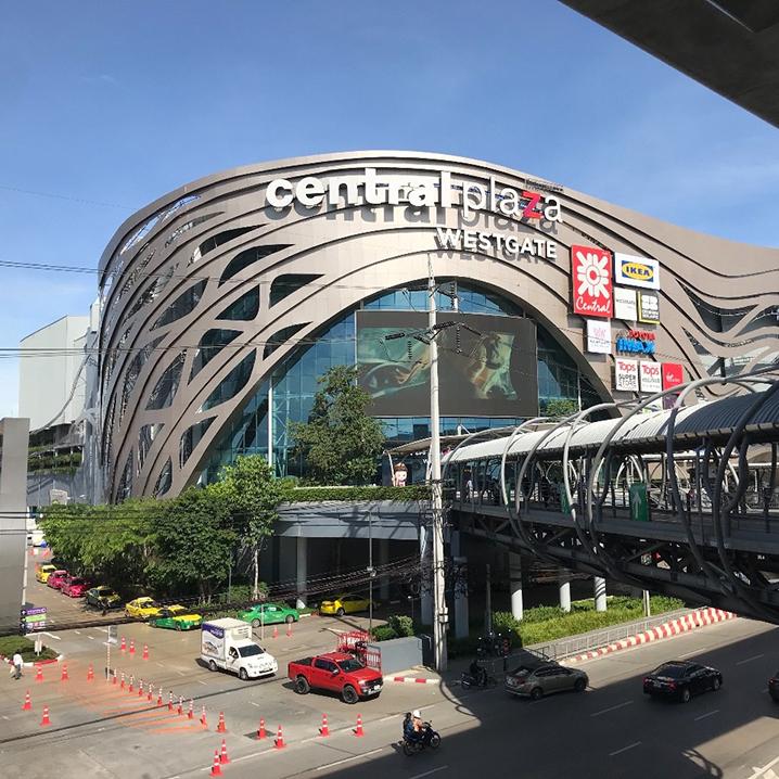曼谷Central Plaza West Gate商场,在爱丽丝梦游仙境里逛街