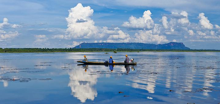 泰国汶干府,奇特的自然风光景点最多的地方