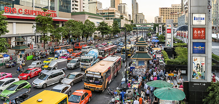 曼谷交通,曼谷生活不止眼前的苟且还有眼前的堵车