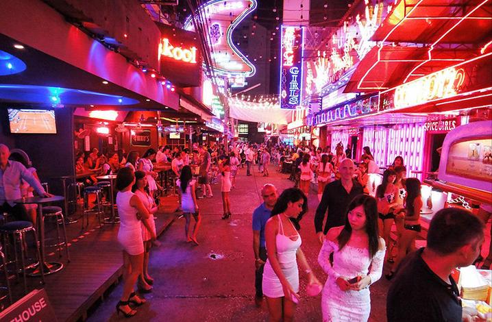 普吉与曼谷红灯区的夜生活游记