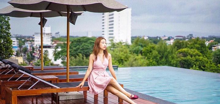 清迈湄平河边Anantara安纳塔拉酒店,完美到你愿意打飞的去住