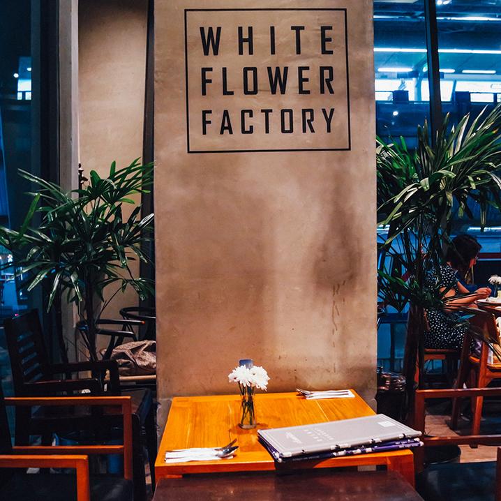 曼谷white flower factory餐厅,独有的泰国食材和西方料理的结合