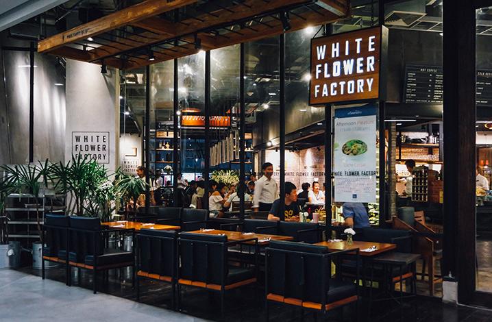 曼谷white flower factory餐厅