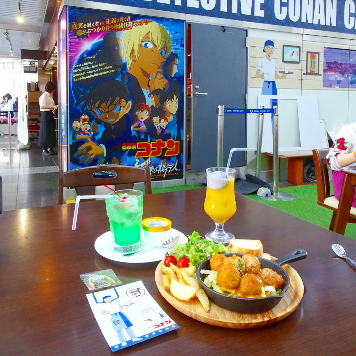 Detective Conan Cafe,柯南主题咖啡店首次进驻曼谷