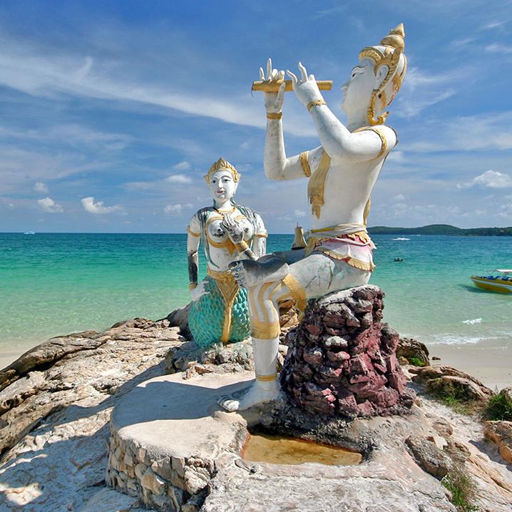 沙美岛两日游,在沙美岛吃吃喝喝的佛系旅游